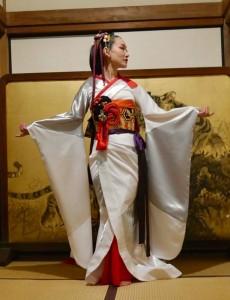 Saori Kanda kimono dress No5