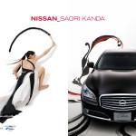 nissan × Saori Kanda calender